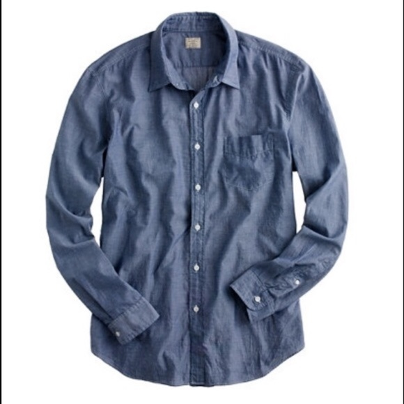 J. Crew Other - Men's J. Crew Lightweight Chambray Top